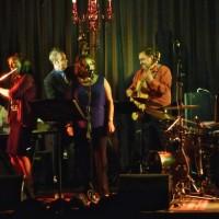 Deborah Woodroffe with Bob Sedergreen and friends