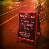 Party night at the Brunswick Green